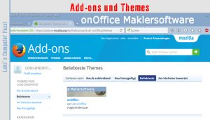 Add-ons und Themes