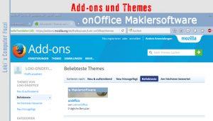 Add-ons und Themes